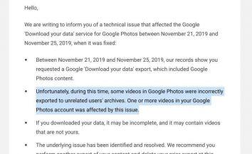 جوجل تعترف بحدوث خلل فى أداة Google Takeout